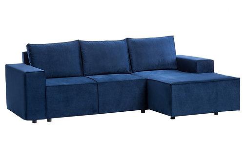 Sofa narożnikowa z funkcją spania 5   - różne kolory