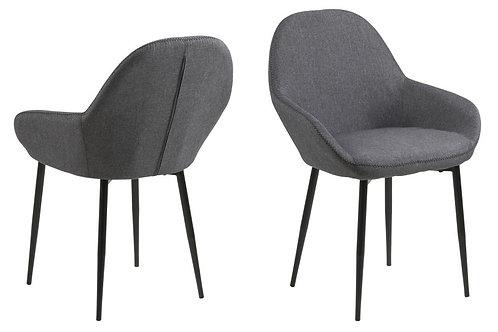 Krzesło tapicerowane Grey 8