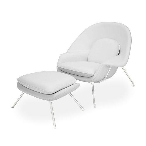 Fotel z podnóżkiem Prestige 33