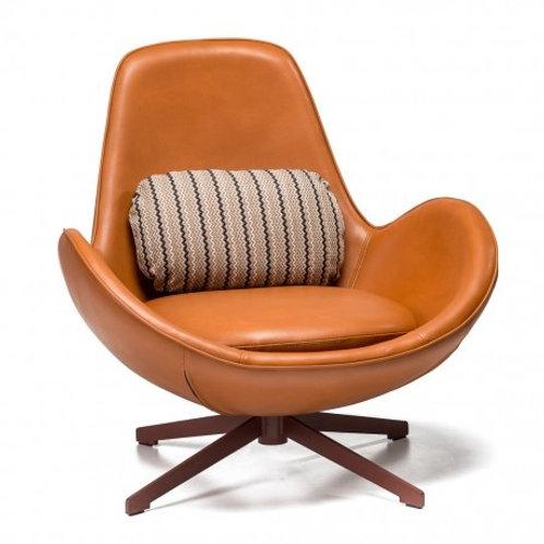 Fotel brązowy Luxury Casablanca 3