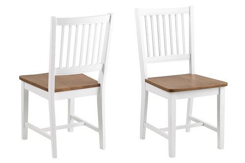 Krzesło  białe drewniane Marsylia