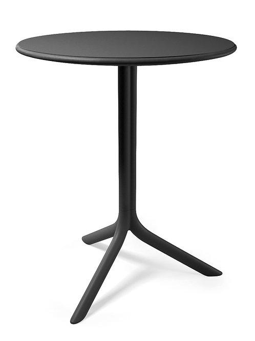 Czarny stół na nóżce - Three