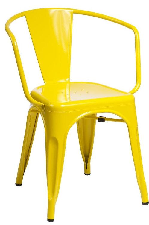 Designerskie krzesło metalowe - różne kolory