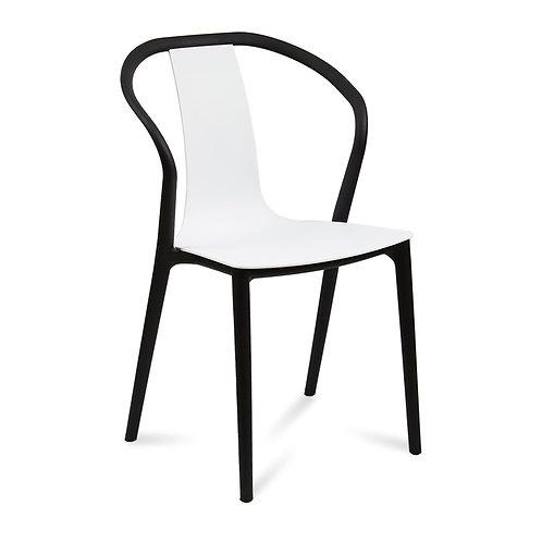 Krzesło biało - czarne Artola
