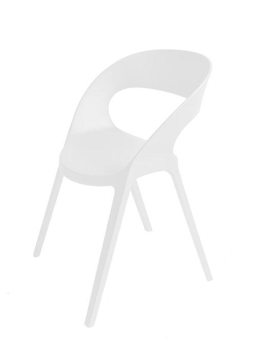 Krzesło Carla Białe