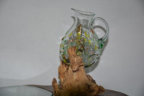 Hand Made - Wazon Glass & Teak II