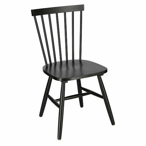 Krzesło czarne drewniane Roberto 1