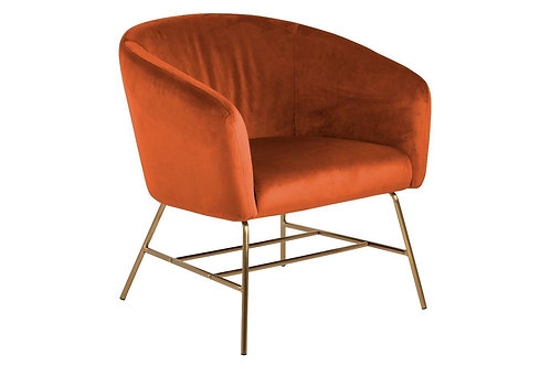 Fotel pomarańczowy Aurora 3