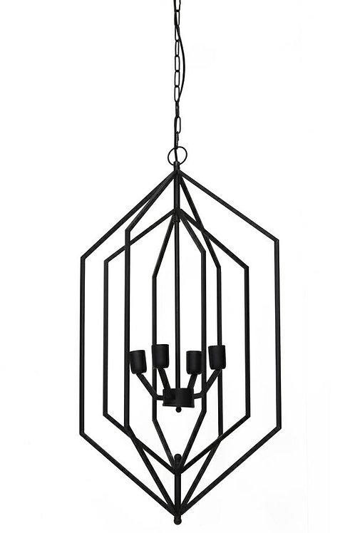 Lampa wisząca czarna Luxyry 55