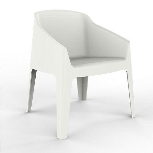 Fotel biały Berti