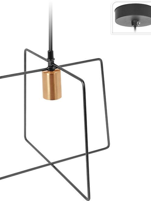 Lampa sufitowa Arina 2 czarna