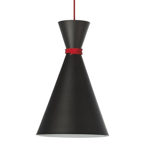 Lampa wisząca Black Bowl