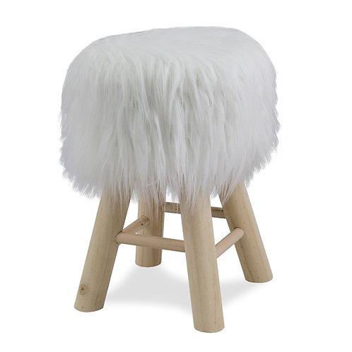 Drewniany stołek  Furry 2