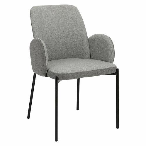 Krzesło szare  tapicerowane Rihanna 33