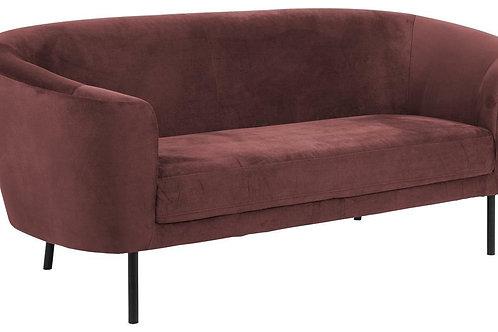 Sofa 3 osobowa  ciemno czerwona  Lary 22