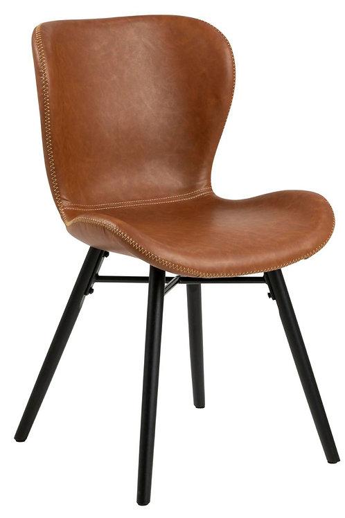 Stylowe krzesło brązowe  London 28