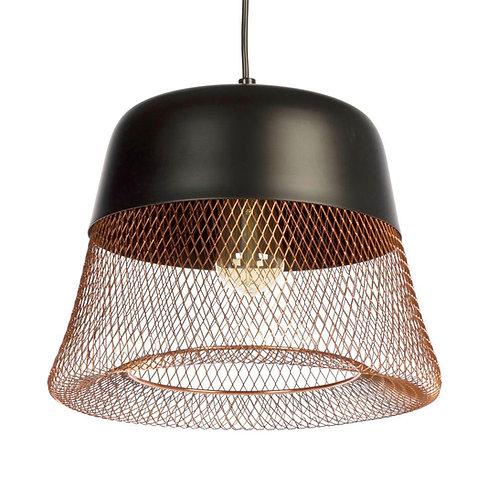 Lampa ażurowa - Copper Wire