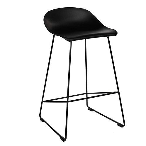 Hoker designerski czarny  44 Wysokość  81 cm