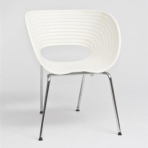 Krzesło białe Shell
