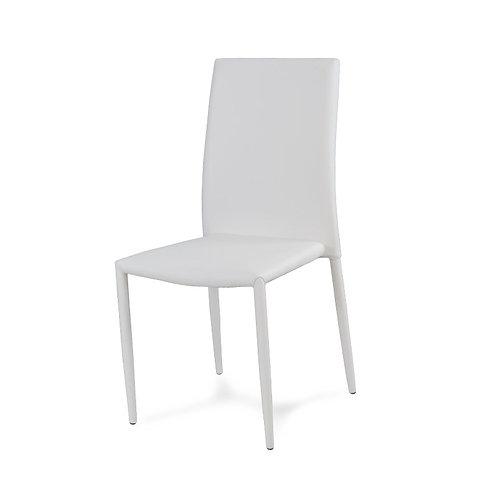 Krzesło tapicerowane bankietowe eko- skóra