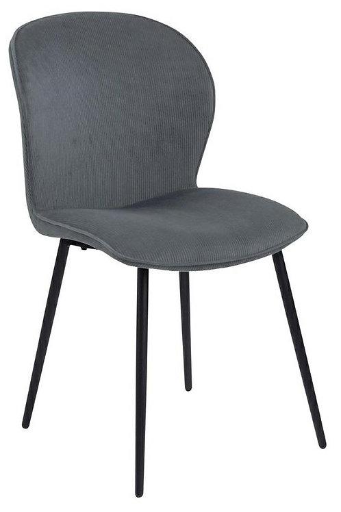 Krzesło szare   Sztruksi 33