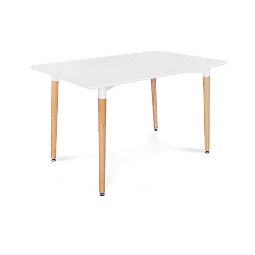Biały stół Skandi 120 x 70 cm