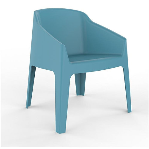 Fotel niebieski  Berti