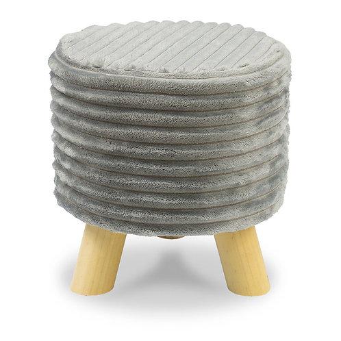 Tapicerowana pufa - stołek
