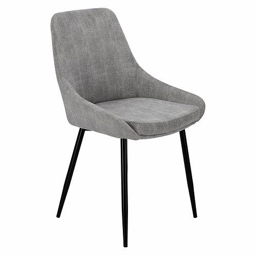 Krzesło sztruksowe szare  Szymon