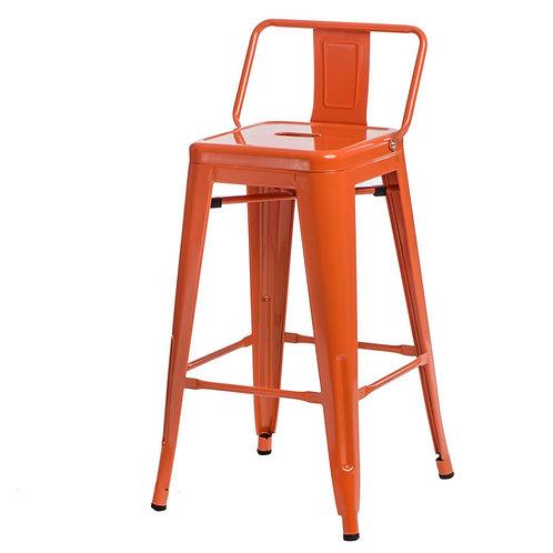 Hoker designerski pomarańczowy 44