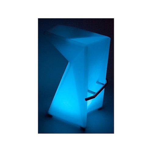 Świecący hoker LED ładowany indukcyjnie - Club