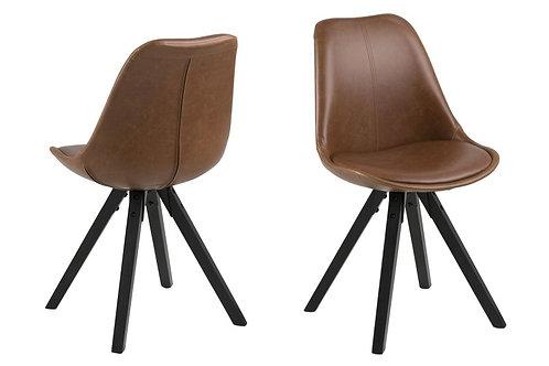 Krzesło tapicerowane eko skóra