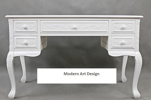 Białe stylizowane biurko -Waleria