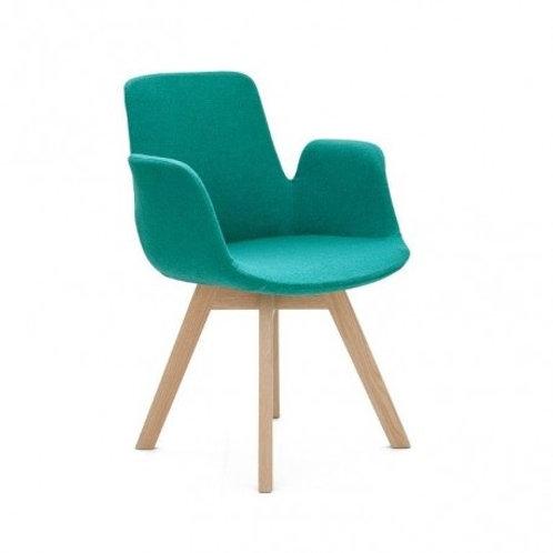 Krzesło turkusowe Hilary 1