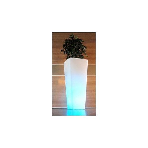 Świecąca doniczka LED ładowana indukcyjnie 77cm
