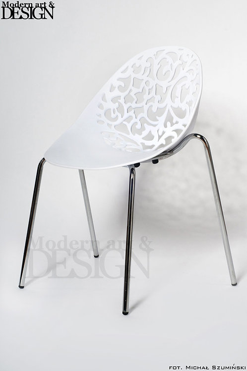 Zestaw czterech krzeseł Flourish