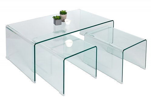 Komplet 3 stolików Santori
