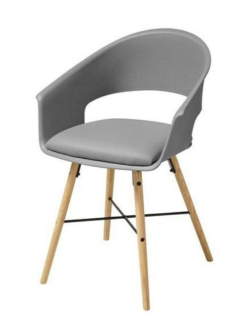 Krzesło szare Leopold 2