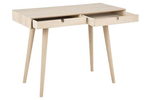 Designerskie  drewniane biurko - Dąb