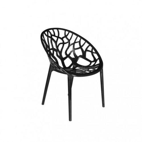 Krzesło czarne Forest 1