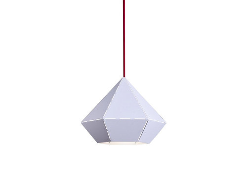 Wisząca metalowa lampa - Sputnik