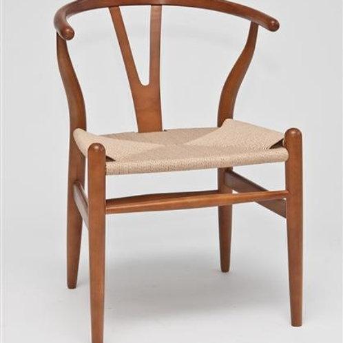 Krzesło Wiktoria - jasnobrazowe