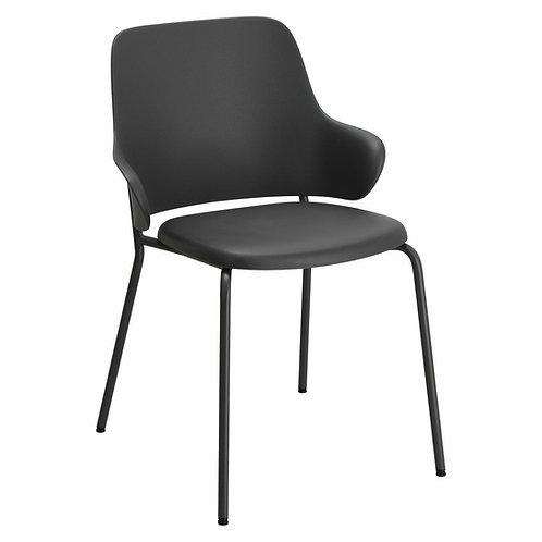 Krzesło Ida 33  czarne/ szare