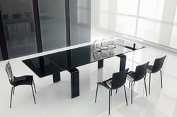 Stół rozkładany - Black Technic