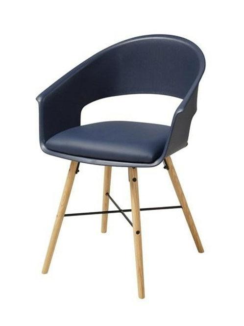 Krzesło ciemnoniebieskie  Leopold 2