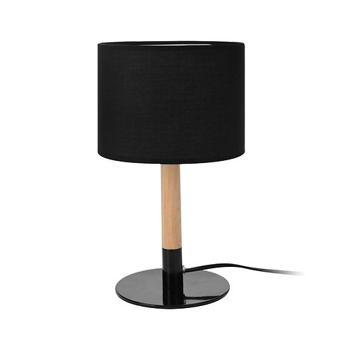 Lampa stołowa drewniana 11