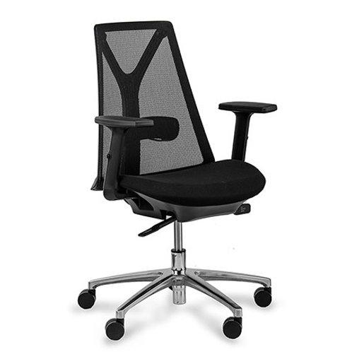 Czarny fotel biurowy  Marco 25