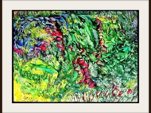 75. Wstążki zielonych drzew