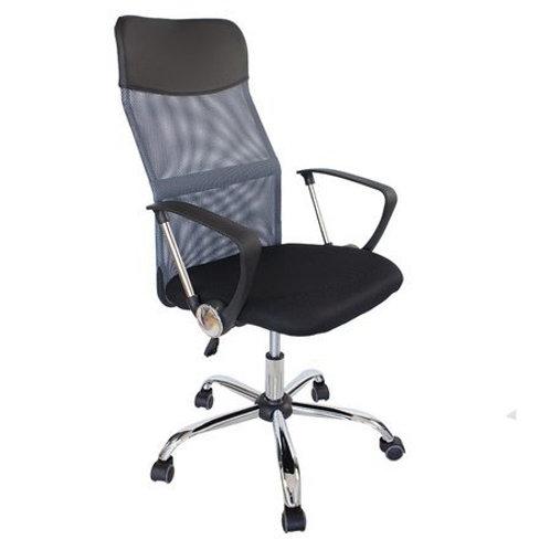 Szary fotel obrotowy biurowy  Boss 51