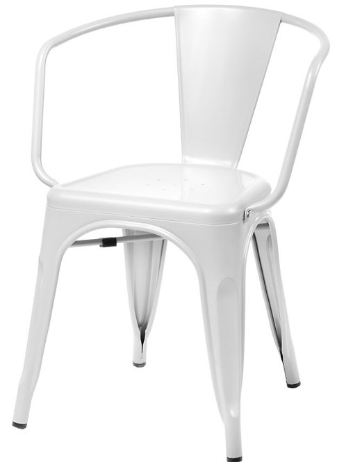 Designerskie krzesło - metalowe